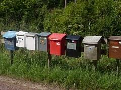 Rangée de lettres