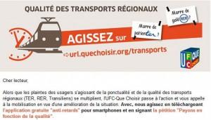 Transports régionaux