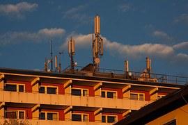 Antennes GSM sur toit