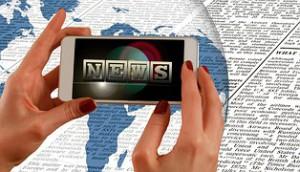 News sur smartphone