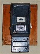 vieux compteur électrique